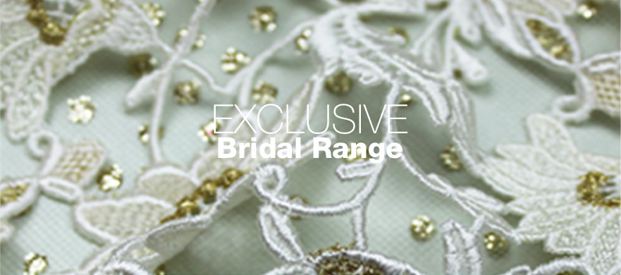 Exclusive Bridal Fabrics from The Berwick Street Cloth Shop