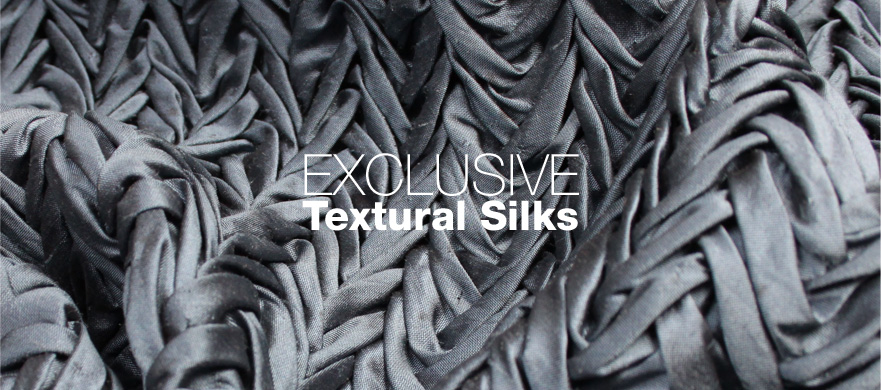 Buy Exclusive Textural Silks from The Berwick Street Cloth Shop